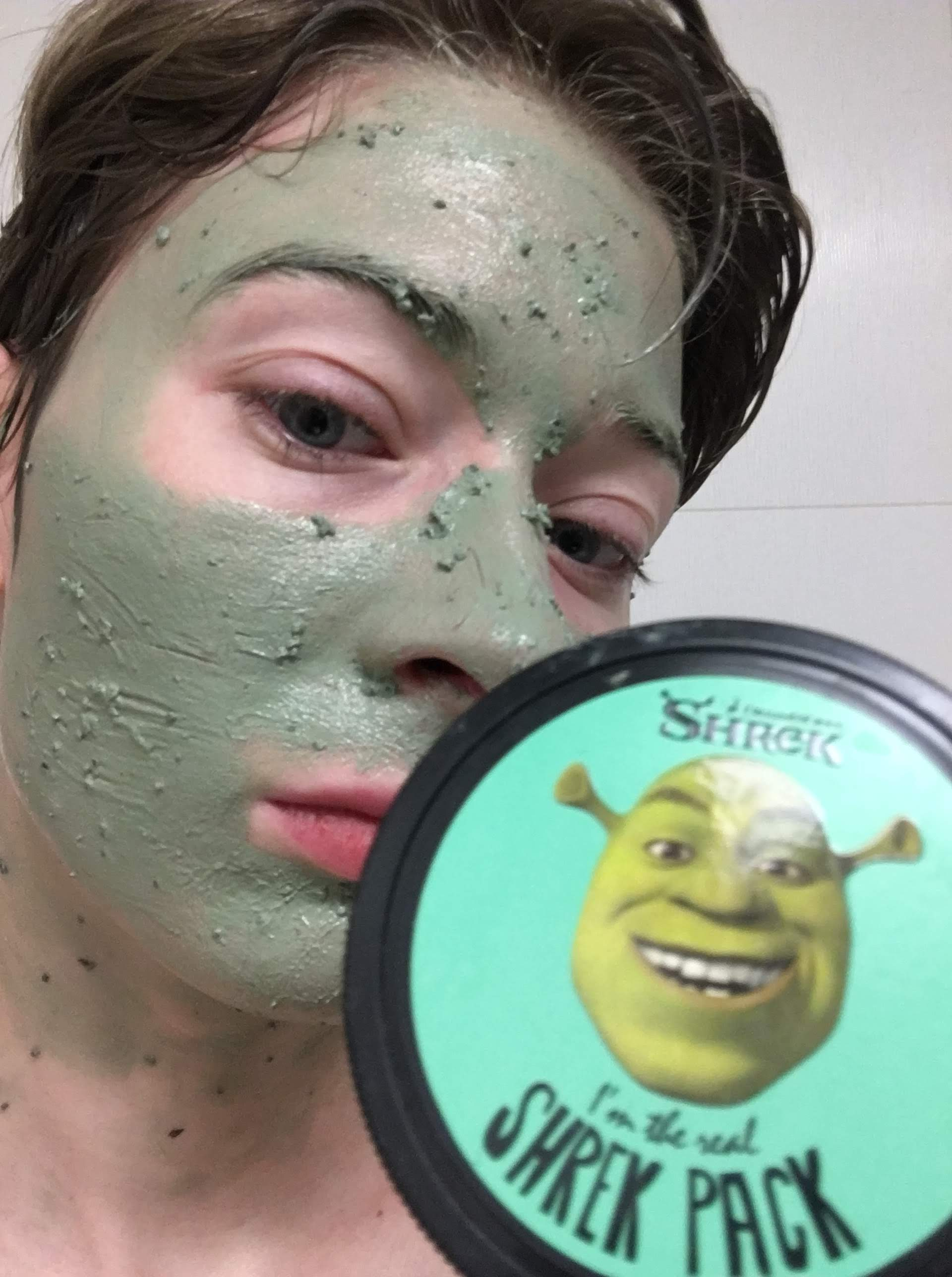 Shrek Face Masks Gimmicky Or The Real Deal The Empties Diaries